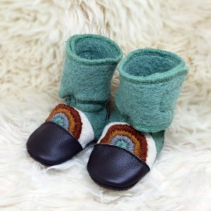 Tildaleins-Shop-NooksDesign-Booties-good-vibes-seitlich