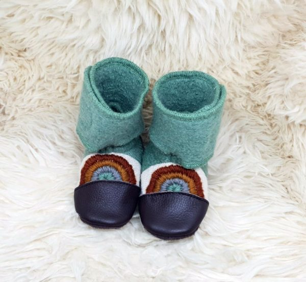 Tildaleins-Shop-NooksDesign-Booties-good-vibes-vorne