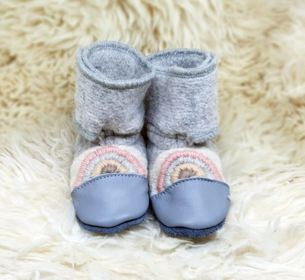 Tildaleins-Shop-NooksDesign-Booties-rainbowmoon-vorne