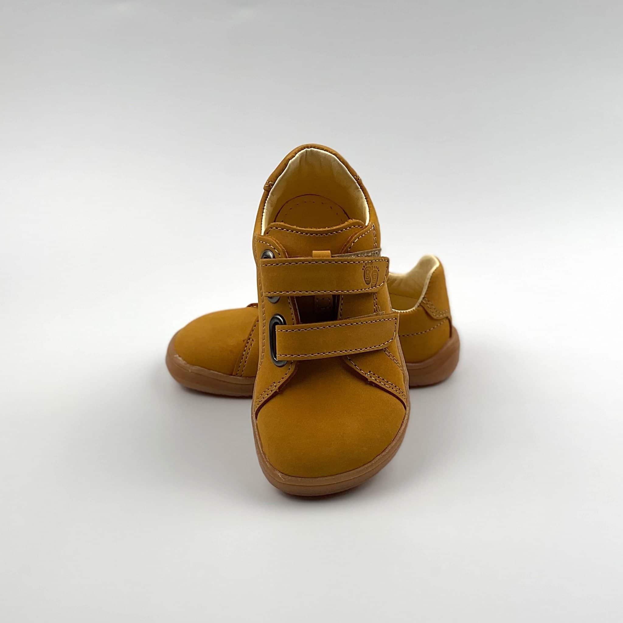 Tildaleins-Shop-Babybareshoes-Febo-spring-mustard-vorne