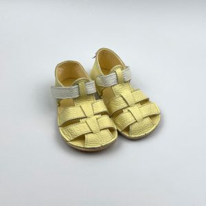 Baby Bare Shoes Sandalen Canary Seitlich
