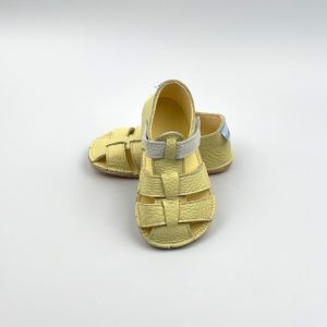 Baby Bare Shoes Sandalen Canary Vorne
