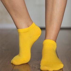 Be Lenka Sneakersocken Gelb Seite