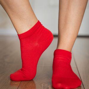 Be Lenka Sneakersocken Rot Seite