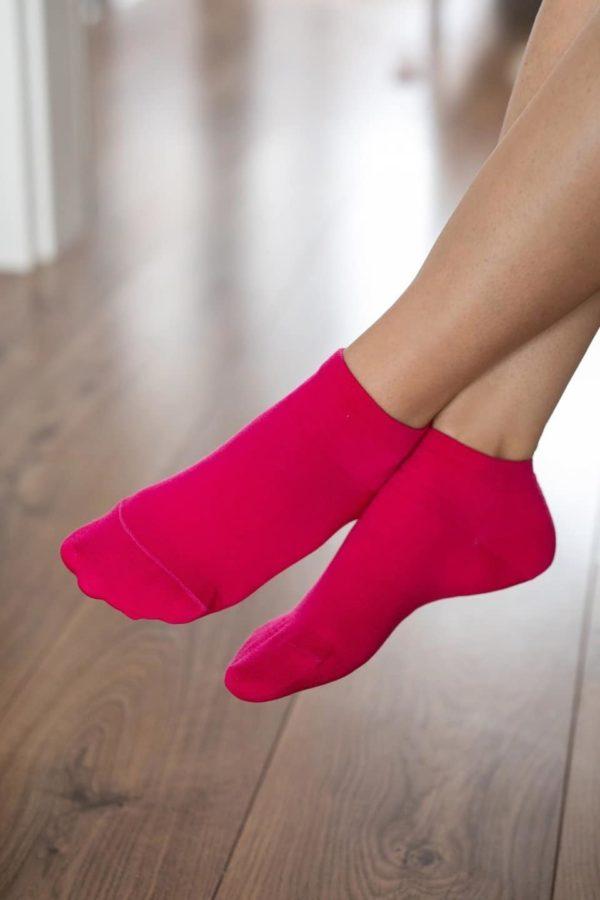 Be Lenka Sneakersocken Pink Seite