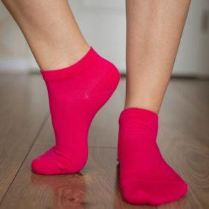 Be Lenka Sneakersocken Pink Seitlich