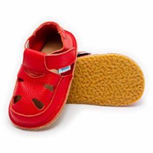 Dodoshoes Sandale Rot Vorne