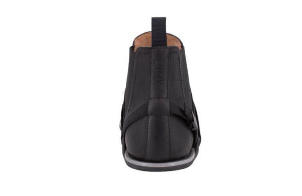 Tildaleins-Shop- xeroshoes-barfusschelseaboot-melbourne-black-hinten