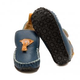 Tildaleins-Shop-zeazoo-tiger-blau-caramel-sohle