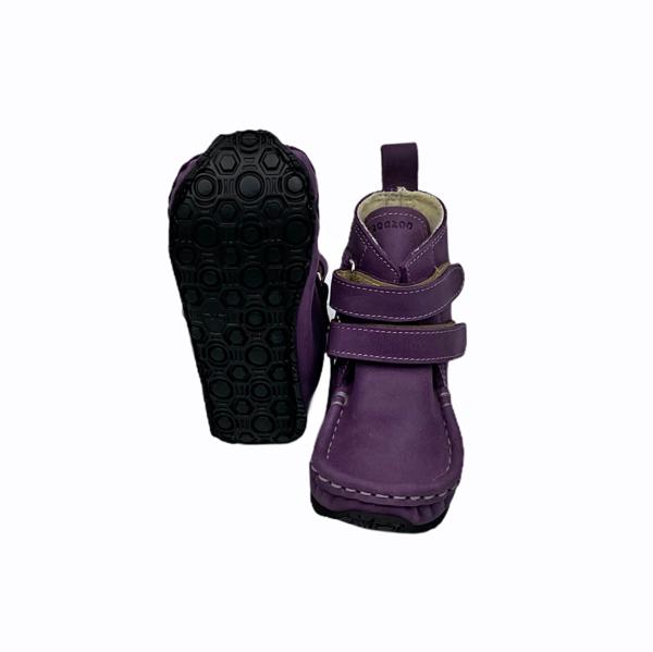 Tildaleins-Shop-zeazoo-winterbarfussschuhe-yeti-purple-sohle