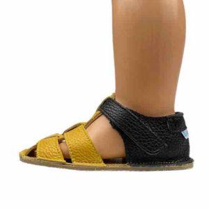 Baby Bare Shoes Barfußsandalen Ananas Seite