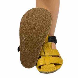 Baby Bare Shoes Barfußsandalen Ananas Sohle