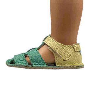 Baby Bare Shoes Barfußsandalen Emerald Seite
