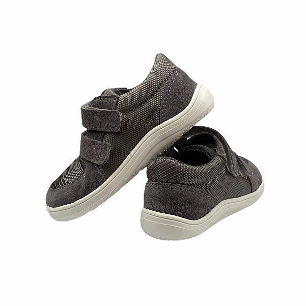 Baby Bare Shoes Barfußschuhe Sneakers Grey Hinten