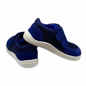 Baby Bare Shoes Barfußschuhe Sneakers Navy Hinten