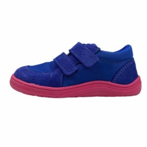 Baby Bare Shoes Barfußschuhe Sneakers Navy Pink Seite