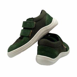 Baby Bare Shoes Barfußschuhe Sneakers Khaki Hinten