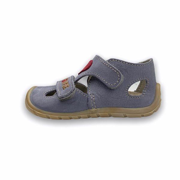 Fare Bare Erste Sandalen Barfußschuhe Mit Herz Seite