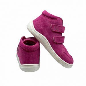 Baby Bare Shoes Barfußschuhe Febo Fall Fuchsia Hinten