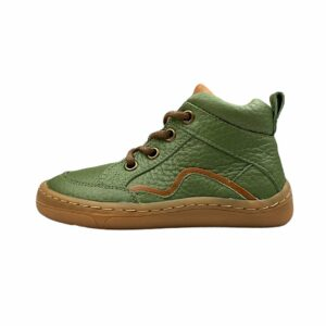 Froddo Barefoot Lace Up Oliv Seite