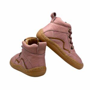 Froddo Barefoot Lace Up Pink Hinten