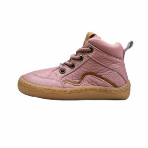 Froddo Barefoot Lace Up Pink Seite