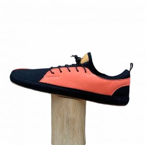 Pegres Bf33 Barfusssneakers Salmon Seite