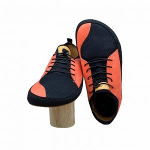 Pegres Bf33 Barfusssneakers Salmon Vorne