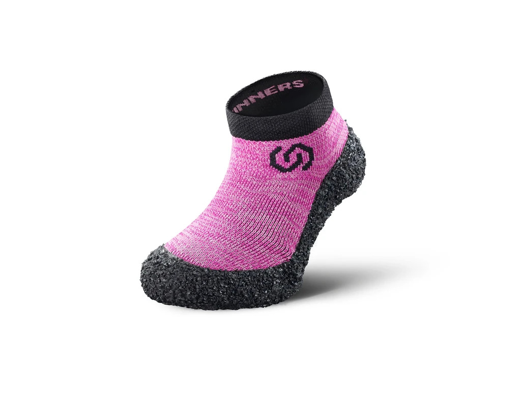 Skinners Sockenschuhe Kinder Candy Pink Seitlich