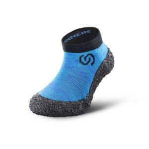 Skinners Sockenschuhe Kinder Ocean Blue Seitlich