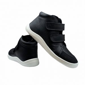 Baby Bare Shoes Barfußschuhe Febo Fall Black Hinten