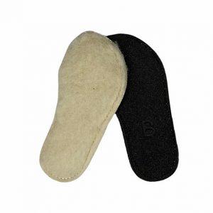 Blifestyle Einlegesohle Für Barfußschuhe Aus Wolle Klein
