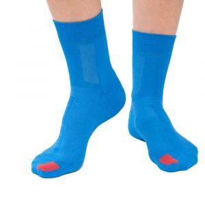 Plus12socks Barfußsocken Functional Cotton Blau Vorne