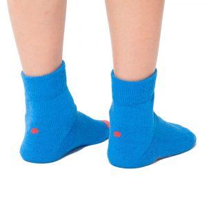 Plus12socks Barfußsocken Functional Cotton Für Kinder Blau Hinten1