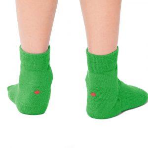 Plus12socks Barfußsocken Functional Cotton Für Kinder Grün Hinten