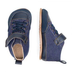 Zapato Feroz Barfußschuhe Júcar Feroz Azul Tejano Oben