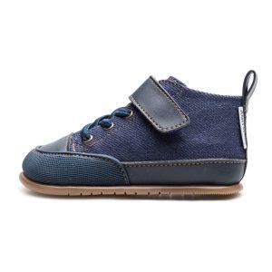Zapato Feroz Barfußschuhe Júcar Feroz Azul Tejano Seite