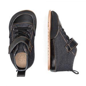 Zapato Feroz Barfußschuhe Júcar Feroz Negro Tejano Oben