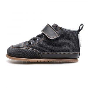 Zapato Feroz Barfußschuhe Júcar Feroz Negro Tejano Seite