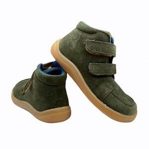Baby Bare Shoes Barfußschuhe Febo Fall Khaki Hinten