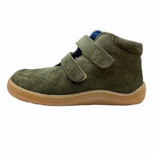 Baby Bare Shoes Barfußschuhe Febo Fall Khaki Seite