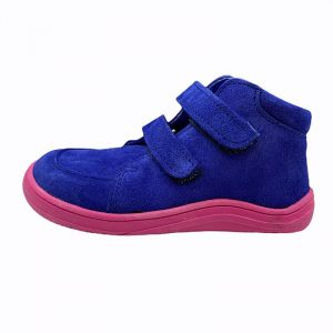 Baby Bare Shoes Barfußschuhe Febo Fall Navy Pink Seite