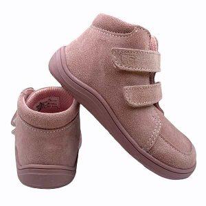 Baby Bare Shoes Barfußschuhe Febo Fall Pink Hinten